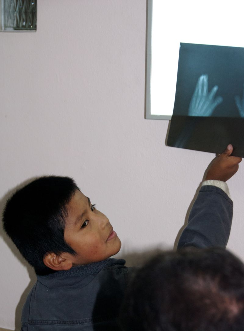 Patient with X-Ray